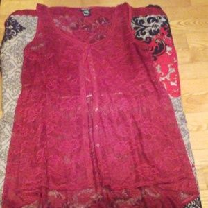 TORRID TANK / DRESS OR COVER UP SIZE 2